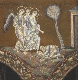 Авраам поклоняется Трем Ангелам под Мамврийским дубом