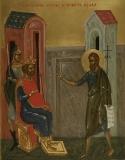 Святой Иоанн Предтеча обличает Ирода