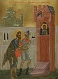 Святого Иоанна Предтечу привели в темницу