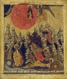 Огненное восхождение Ильи Пророка.