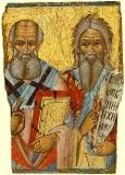 Свв. Афанасий Великий и Пророк Илия