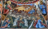 Фреска с изображението на Свети Илия