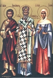 Апостол Андроник :: Апостол Андроник, святитель Афанасий, святая Иуния