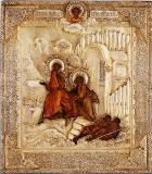 Ангел выводит апостола Петра из темницы