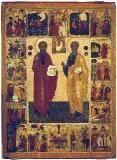 Святые Пётр и Павел в житии. Новгород