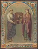 Свв. апостол Симон Кананит и мученик Пантелеймон