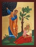 Сарра праматерь :: Святые Абраам и Сарра