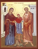 Иоаким и Анна, Богоотцы :: Sf. Ioachim si Ana