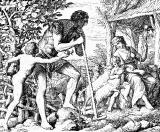 Адам и Ева после изгнания. Бытие 3:17-19