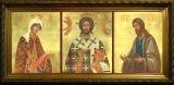 Триптих Деиисусный Чин в киоте