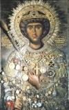Великомученик Георгий. Монастырь Зограф (Афон)