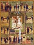 Чудо св.Георгия о змие с житием