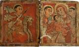 Георгий, св. муч. и Матерь Божия с Младенцем Христом