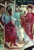 Святой Георгий пeред Диоклетианом