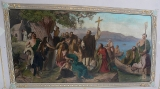 Галл Ирландский :: Проповедь святого Галла  Ирландского