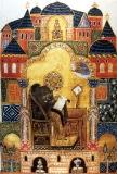 Икона святителя Григория Богослова.