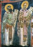 Кирилл Александрийский и Григорий Богослов, свт.