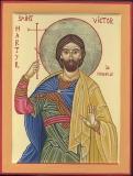 Виктор Марсельский  :: Saint  Martyr Victor de Marseille/ Мученик Виктор Марсельский