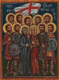 9 братьев Херхеулидзе :: Девять братьев Херхеулидзе, с матерью, сестрой и с ними 9000 грузин