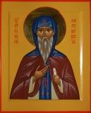 Икона святого преподобного Елисея Лавришевского