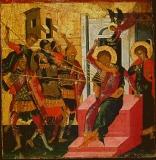 Кончина великомученик Димитрия Солунского