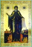 Давид Серпуховский :: Икона преподобного Давида Серпуховского чудотворца.