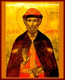 Икона Святой Димитрий Донской