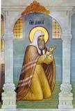 Святитель  Дионисий в темнице в Киеве.