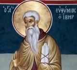 Преподобный Евфимий Новый, Святогорец, Иверский (Афонский)