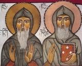 Евфимий Новый, Святогорец, Иверский :: Преподобный Евфимий Новый, Святогорец, Иверский (Афонский)