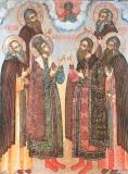 Угличские святые Димитрий и Роман, прпп. Паисий и Кассиан Угличские