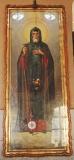 Икона Преподобного Иова Почаевского с частицей мощей