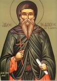 Святой преподобный Исаакий Далматский