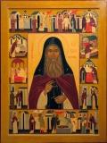 Преподобный Кукша Одесский с житием