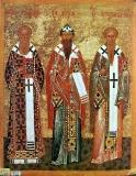 Святители Афанасий Александрийский, Кирилл Александрийский, Игнатий Богоносец