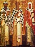 Святители Кирилл и Афанасий Александрийские, Леонтий Ростовский