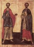 Святые бессребреники Космы и Дамиана