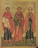 Святые Косьма, Дамиан, Иаков Персянин