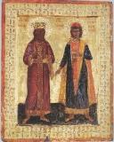 Святитель Князь Лазарь Сербский и мученик Георгий Кратовский, Софийский