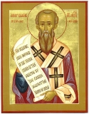 Леандр Севильский :: Святитель Леандр, архиепископ Севильский
