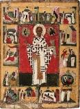 Святитель Николай Зарайский с 14 житиями