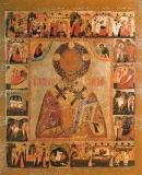 Святитель Николай с житием