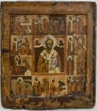 Святитель  Николай Чудотворец с житием