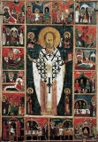 Никола с Христом, Богородицей, Святыми