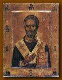 Св. Николай со святыми на полях