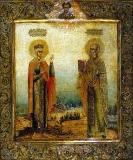 Святитель Николай Чудотворец и св. царица Александра