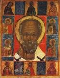 Святитель Никола с Деисусом и избранными святыми.