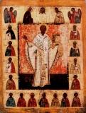 Святитель Никола Зарайский с Деисусом и избранными святыми.