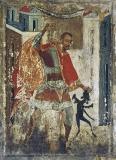 Святитель Никита Новгородский изгоняет беса (аватара)