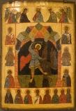 Великомученик Никита, побивающий беса с избранными святыми